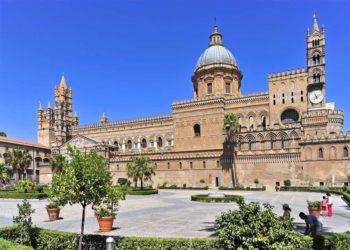 Die Kathedrale in Palermo auf Sizilien