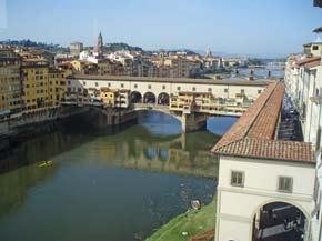 Florenz: Blick auf den Arno