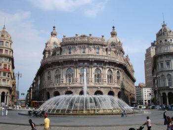Piazza de Ferrari in Genua