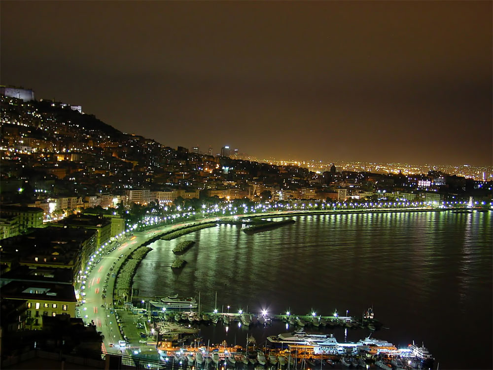 Neapel – die Hauptstadt der Region Kampanien in Italien