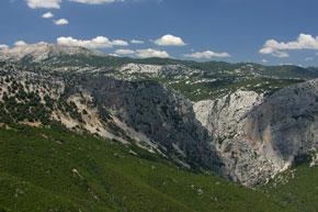 Gennargentu Gebirge auf Sardinien