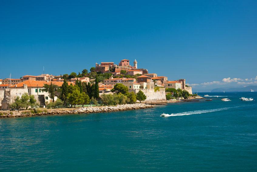 Die toskanische Insel Elba in Italien