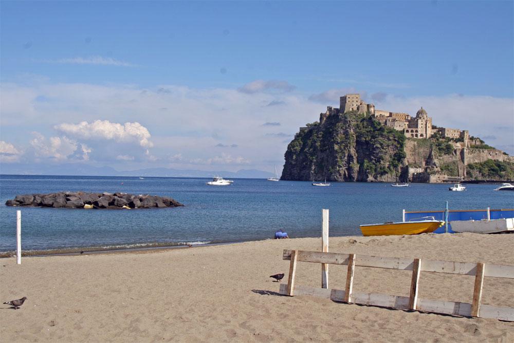 Die Insel Ischia in der italienischen Region Kampanien