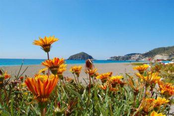 Der Maronti-Strand auf Ischia