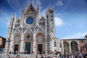 Der Dom Santa Maria Assunta in Siena