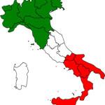 Landkarte von Italien