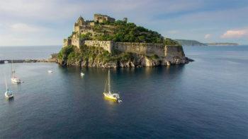 Das Castello Aragonese vor Ischia