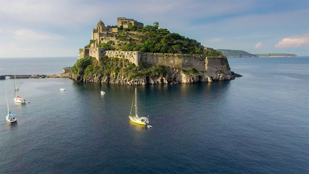 Thermalgärten auf der Insel Ischia