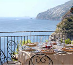 Ausblick vom Hotel Conca Azzurra