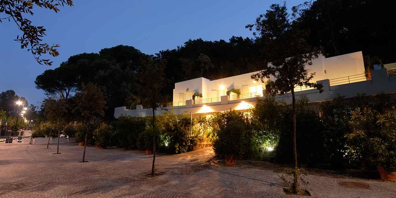 Hotel della Baia auf der italienischen Insel Ischia