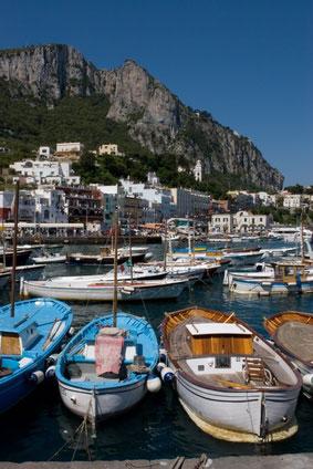 Anacapri auf der italienischen Insel Capri