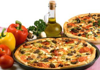 Pizza aus Italien